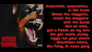Ghostface Killers LYRICS (feat. Travis Scott) | 21 Savage, Offset, & Metro Boomin