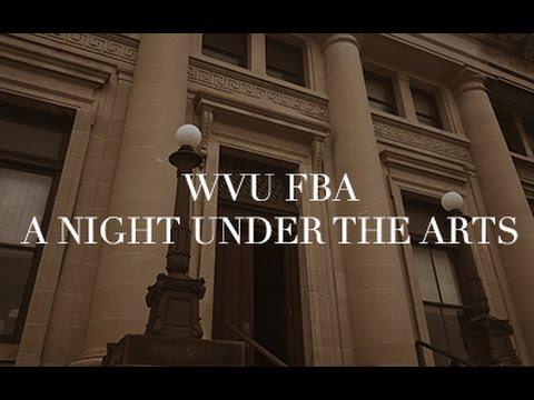 WVU FBA: A Night Under the Arts