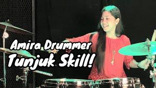 Amira Drummer Tunjuk Skill? Power!!