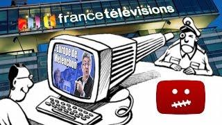 Droit d'auteur : FranceTv m'a censuré politiquement sur YouTube.