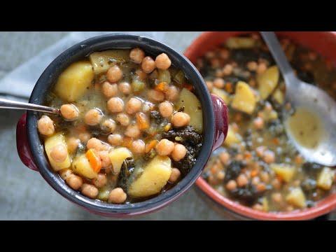 Zuppa di Ceci Strepitosa - Ricetta facile e gustosa