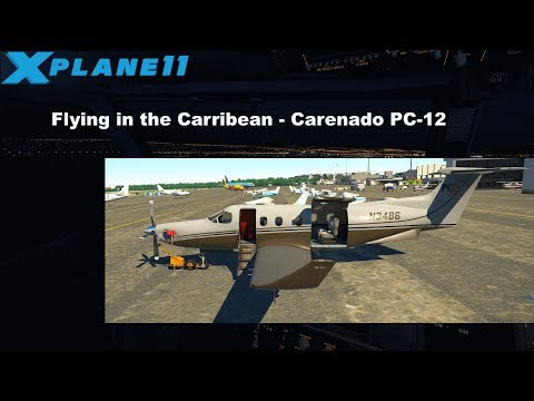 [Livestream] XP11 - Flying in the Caribbean [GER]