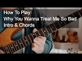 watch he video of Why You Wanna Treat Me So Bad (Intro & Chords) - Prince Guitar Tutorial