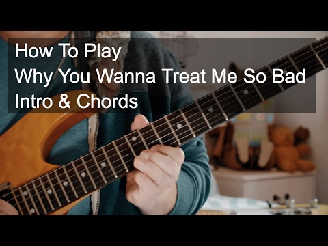 Free Download Why You Wanna Treat Me So Bad (intro & Chords) - Prince Guitar Tutorial Mp3 dan Mp4