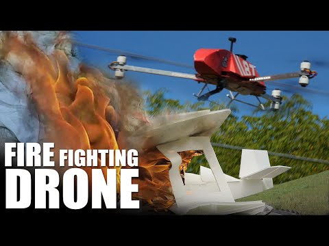 Fire Fighting Drone   Flite Test