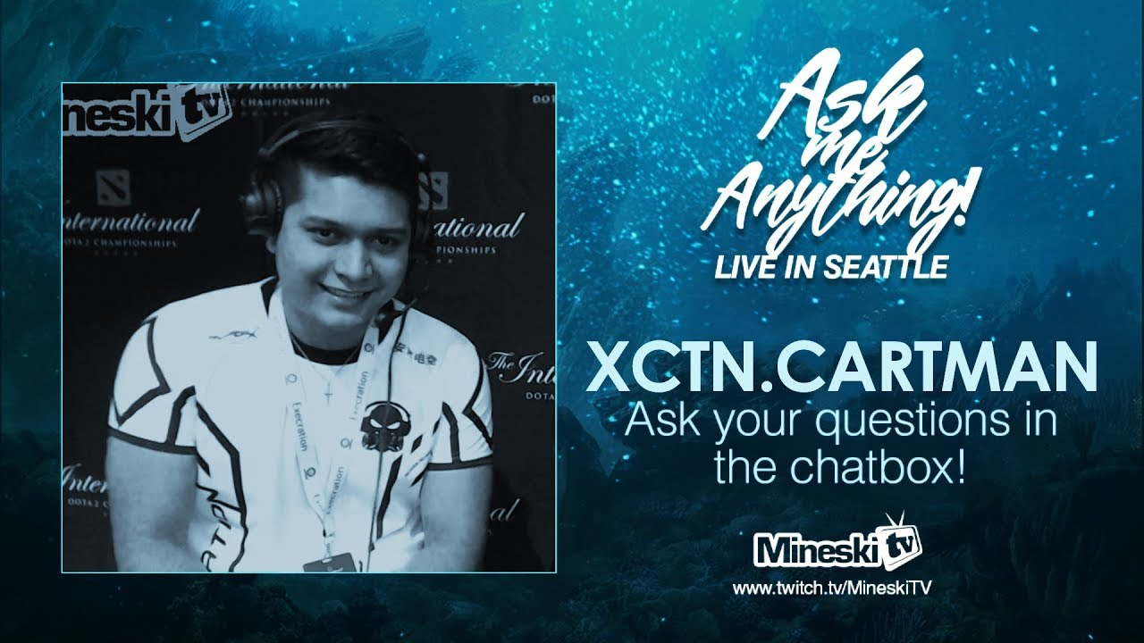 ask me anything live in seatle xctn cartman the international