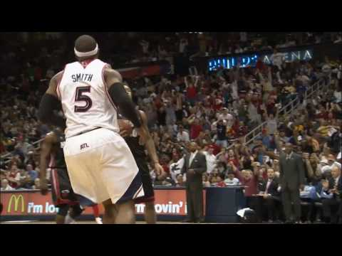 Josh Smith's Game One Dunks in Slo-Mo