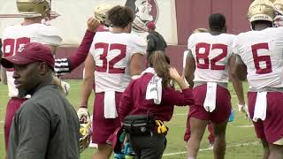 Florida State Seminoles football raw practice footage (11/14)