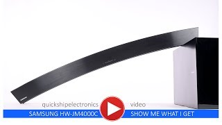 quickshipelectronics Samsung Wireless Soundbar HW-JM4000C - unboxing