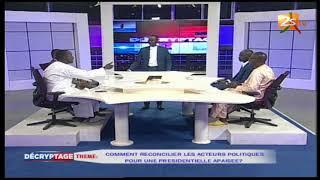 DÉCRYPTAGE DU 09 MAI 2018 : COMMENT RECONCILIER LES ACTEURS POLITIQUES ?