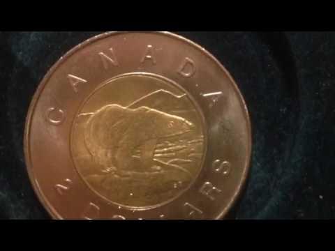 2 Dollars- Elizabeth II- Canada Coin