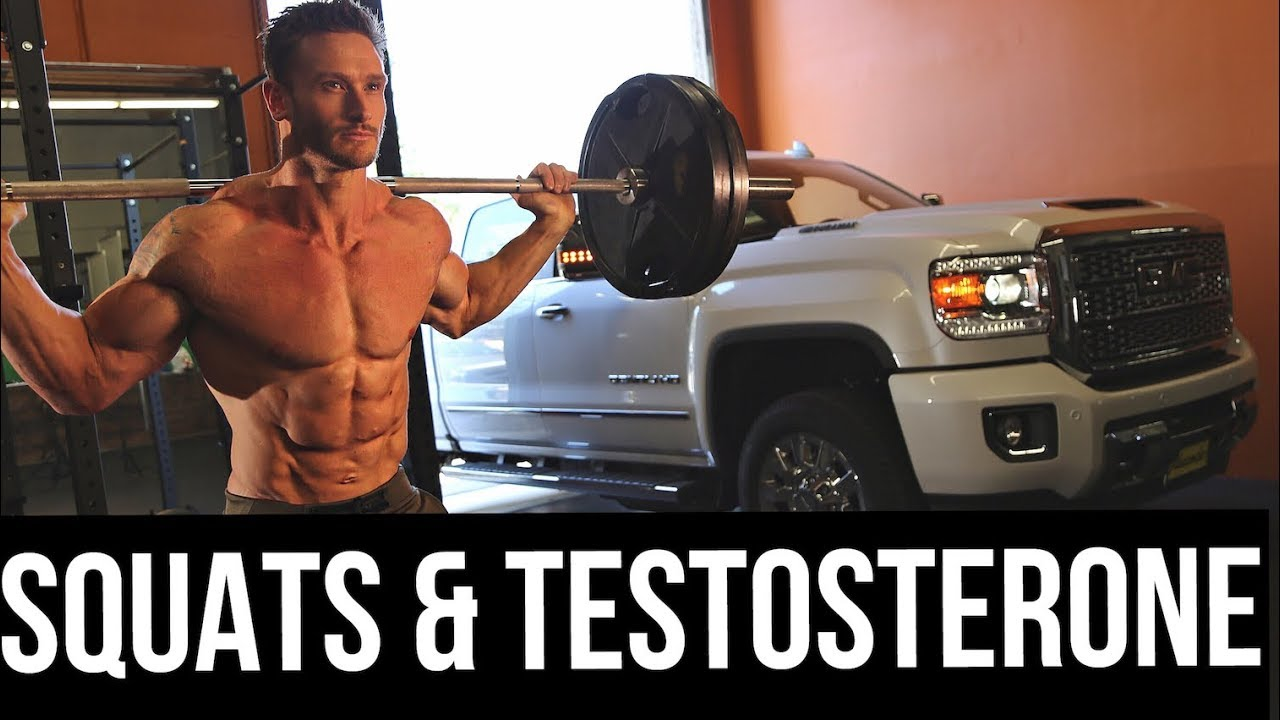 does doing squats increase testosterone