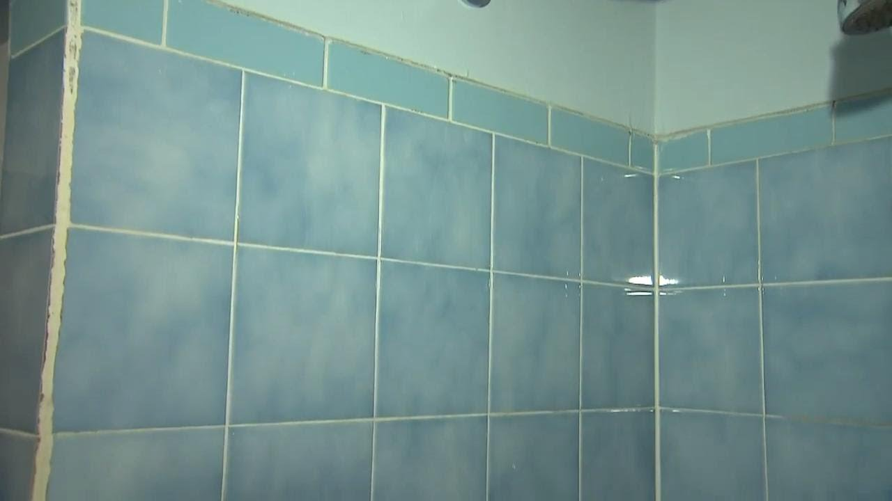 your diy solution to re glaze old school bathroom tiles