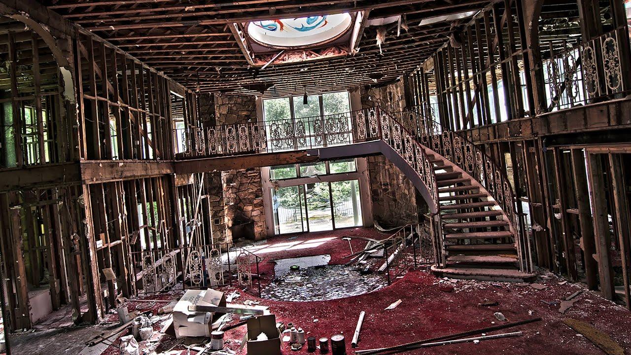 Exploring Abandoned Playboy Mansion After A Landslide