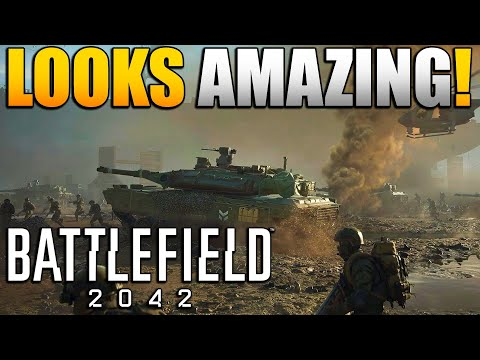 Reacting to the Battlefield 2042 Official Gameplay Trailer | Will it Compete With Warzone?