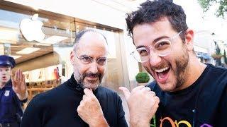 Apple Store Steve Jobs Prank *gone wrong*