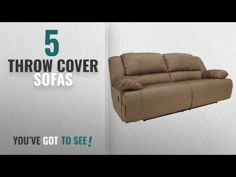Top 10 Throw Cover Sofas [2018 ]: Ashley Furniture Signature Design - Hogan Reclining Sofa - Manual
