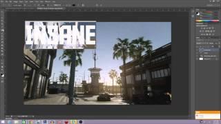 (Photoshop CS6)Profesyonel bir YouTube Küçük resim Oluşturma-COD: AW TN