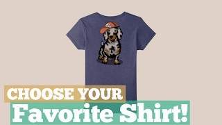Top 12 Tees By Dachshund Shirt // Graphic T-Shirts Best Sellers