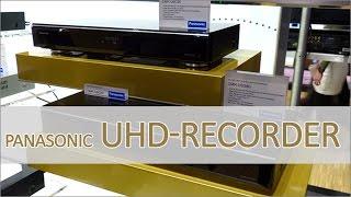 Panasonic DMR-UBS90 und DMR-UBC90 UHD Recorder