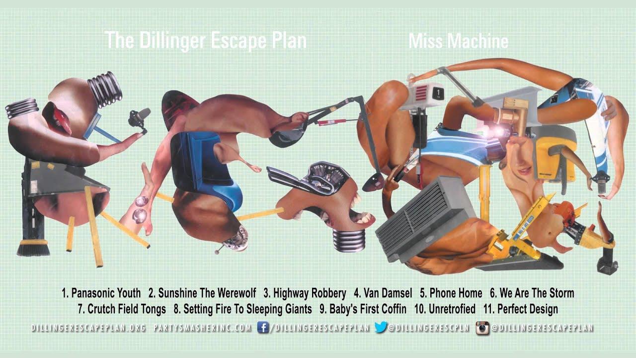 The Dillinger Escape Plan Miss Machine Full Album