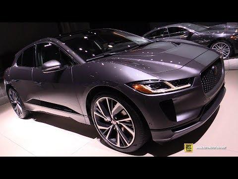 2019 Jaguar i-Pace EV400 AWD - Exterior and Interior Walkaround - 2019 NY Auto Show