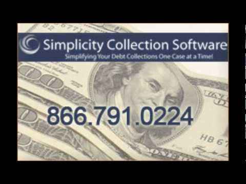 Simplicity Debt Collection Software Demo Video
