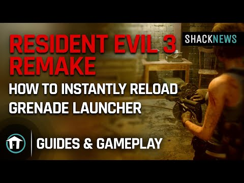 Resident Evil 3 - How to Instantly Reload Grenade Launcher