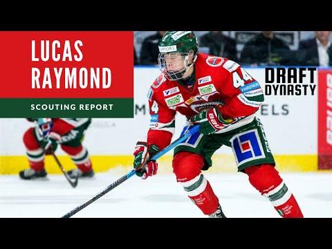 Lucas Raymond Highlights 2020 NHL Draft