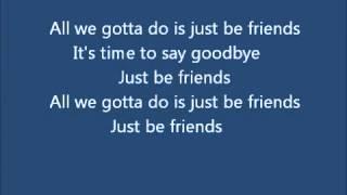 Just Be Friends (Piano Version)  Shounen-T/少年T Romanji Lyrics