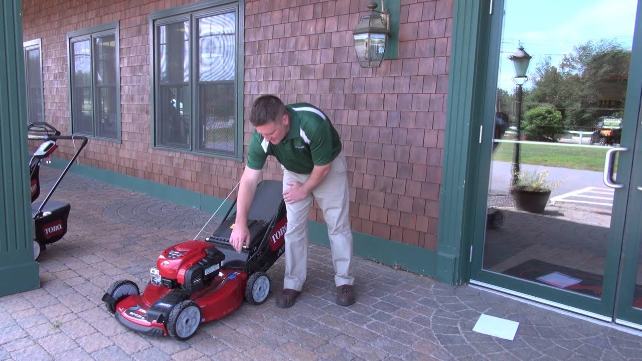 How To Start A Toro Lawn Mower