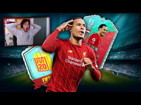 😱OMFG I PACKED FUT BIRTHDAY VAN DIJK IN A PARTY BAG | Stream Highlights | FIFA 20 | AlexIsLive