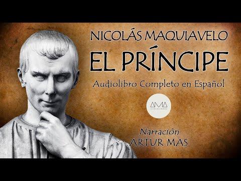 Nicolás Maquiavelo - El Príncipe (Audiolibro Completo en Español) VOZ REAL