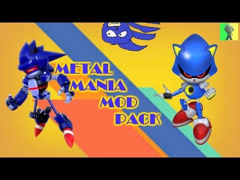 "[Sonic Mania PC] - Metal Mania Mod ""Pack"""