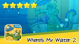 Where's My Water 2 Level 21 Mean Green Water Eating Machine Walkthrough New Game Plus Recommend inde