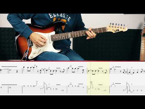 Jeff Beck - Cause We've Ended As Lovers (Guitar Tutorial)