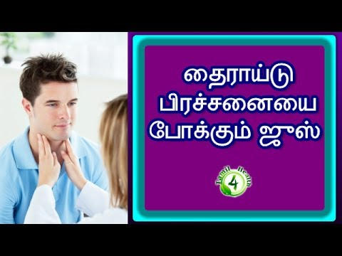 One Ultimate Drink That Helps To Treat Thyroid Problem (Hypothyroidism)