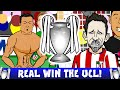 REAL MADRID CHAMPIONS LEAGUE FINAL 2016 Penalty Shoot Out Real vs Atletico Madrid 1 1