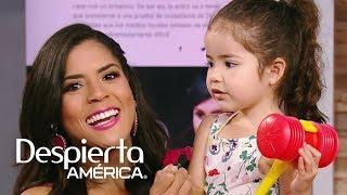 Baby Giulietta debuta como presentadora en Despierta América