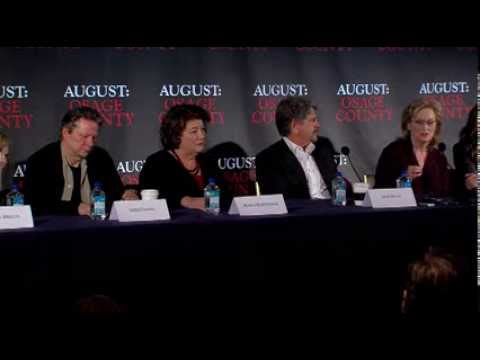 August: Osage County Press Conference Part 2 of 4