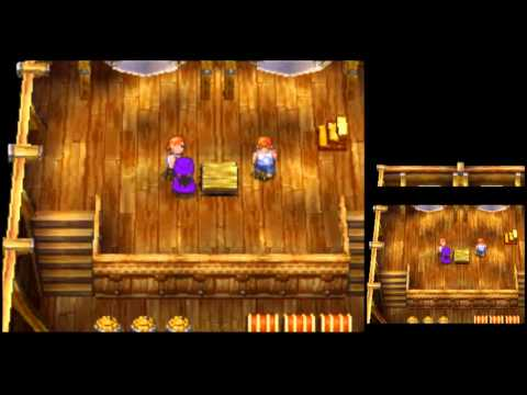 Dragon Quest V [DS] Playthrough #002, Aboard the Black Jack: Landing at Littlehaven