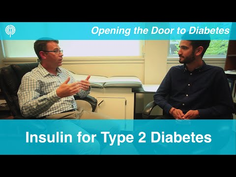 Insulin for Type 2 Diabetes