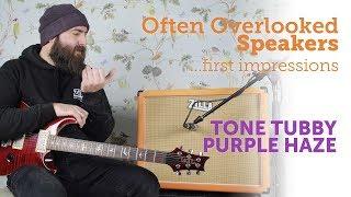 Tone Tubby Purple Haze, hemp cone Alnico 12 speaker - Zilla Cabs