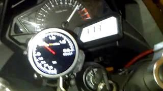 2nd Teaser Turbocharged NINJA 250EFI Free Run on the Dyno