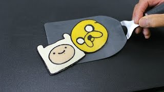 Pancake Art - Finn and Jake (Adventure Time) by Tiger Tomato