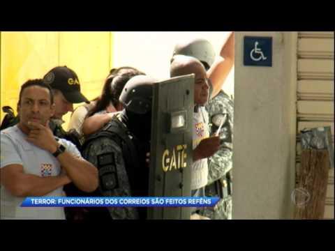 Funcionários dos correios são feitos reféns em São Paulo