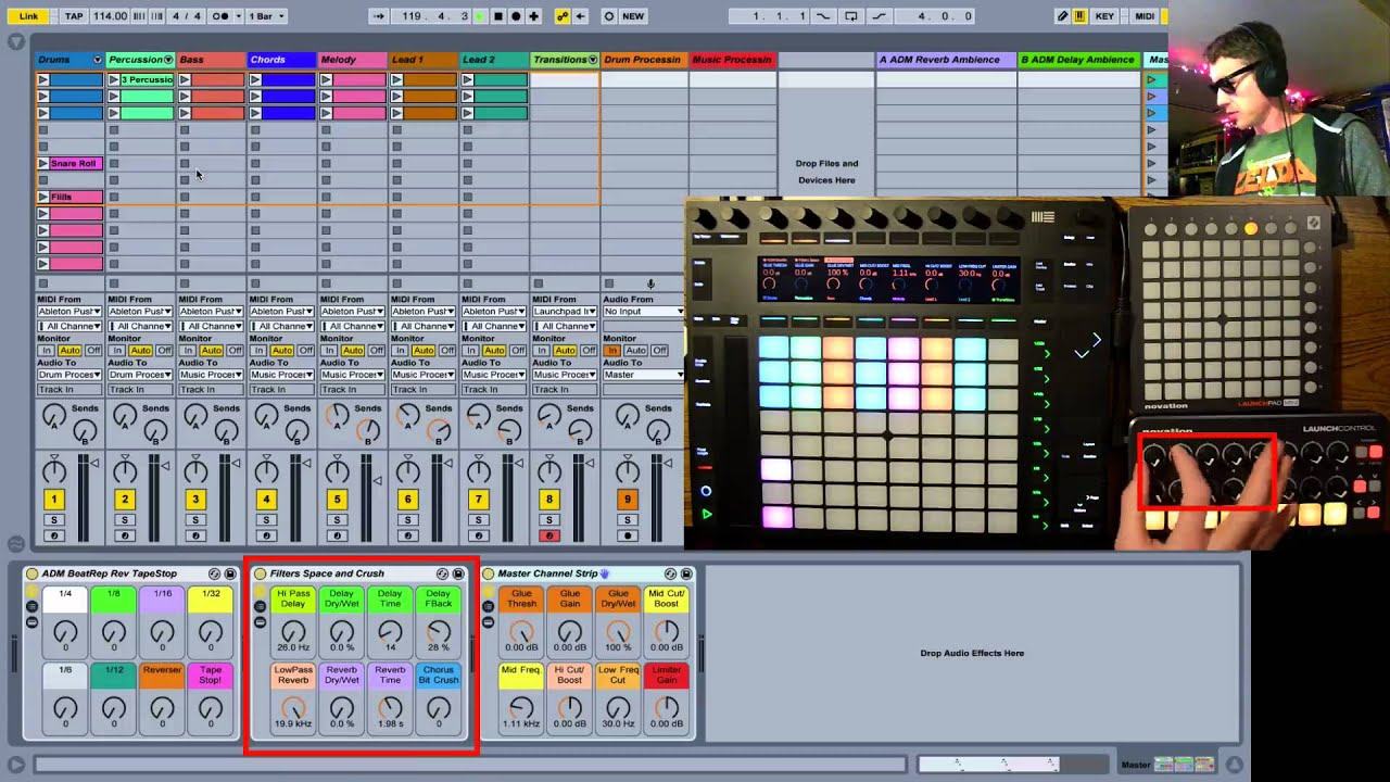 Ableton Live Performance Template Youtube
