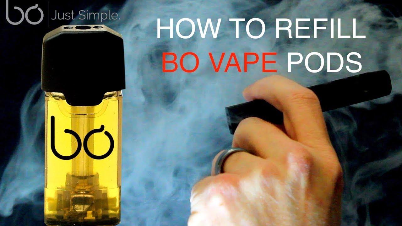 How To Save Money Refilling BO Vape Pods