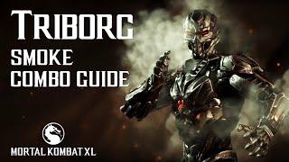 Download Video Mortal Kombat X: TRIBORG (Smoke) Combo Guide MP3 3GP MP4