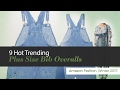 9 Hot Trending Plus Size Bib Overalls Amazon Fashion, Winter 2017